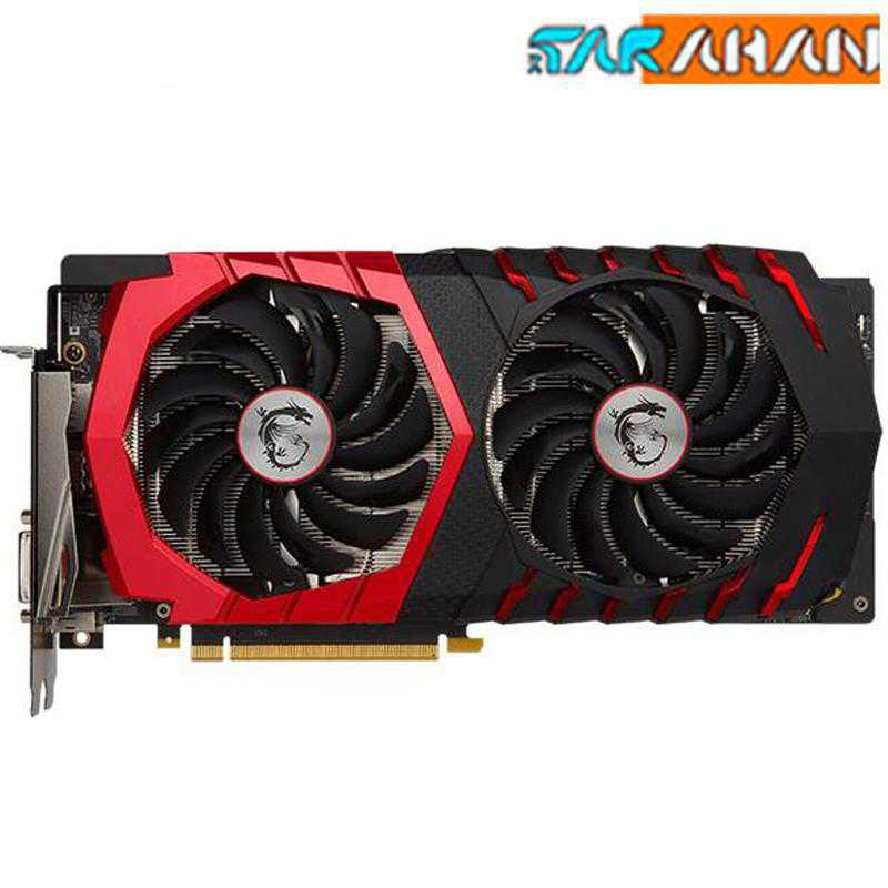 کارت گرافیک ام اس آی مدل GeForce GTX 1060 GAMING X 6G | MSI GeForce GTX 1060 GAMING X 6G Graphics Card