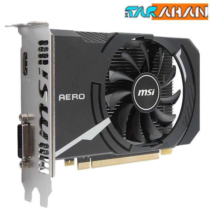 کارت گرافیک ام اس آی مدل GeForce GT 1030 AERO ITX 2G OC | MSI GeForce GT 1030 AERO ITX 2G OC Graphics Card